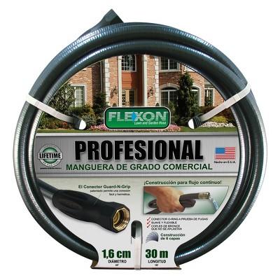 "Flexon Professional 5/8"" x 100ft Garden Hose"