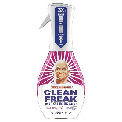 Mr. Clean Clean Freak Cleaning Mist Multi-Surface Spray - Wild Flower Starter Kit - 1ct/16 fl oz