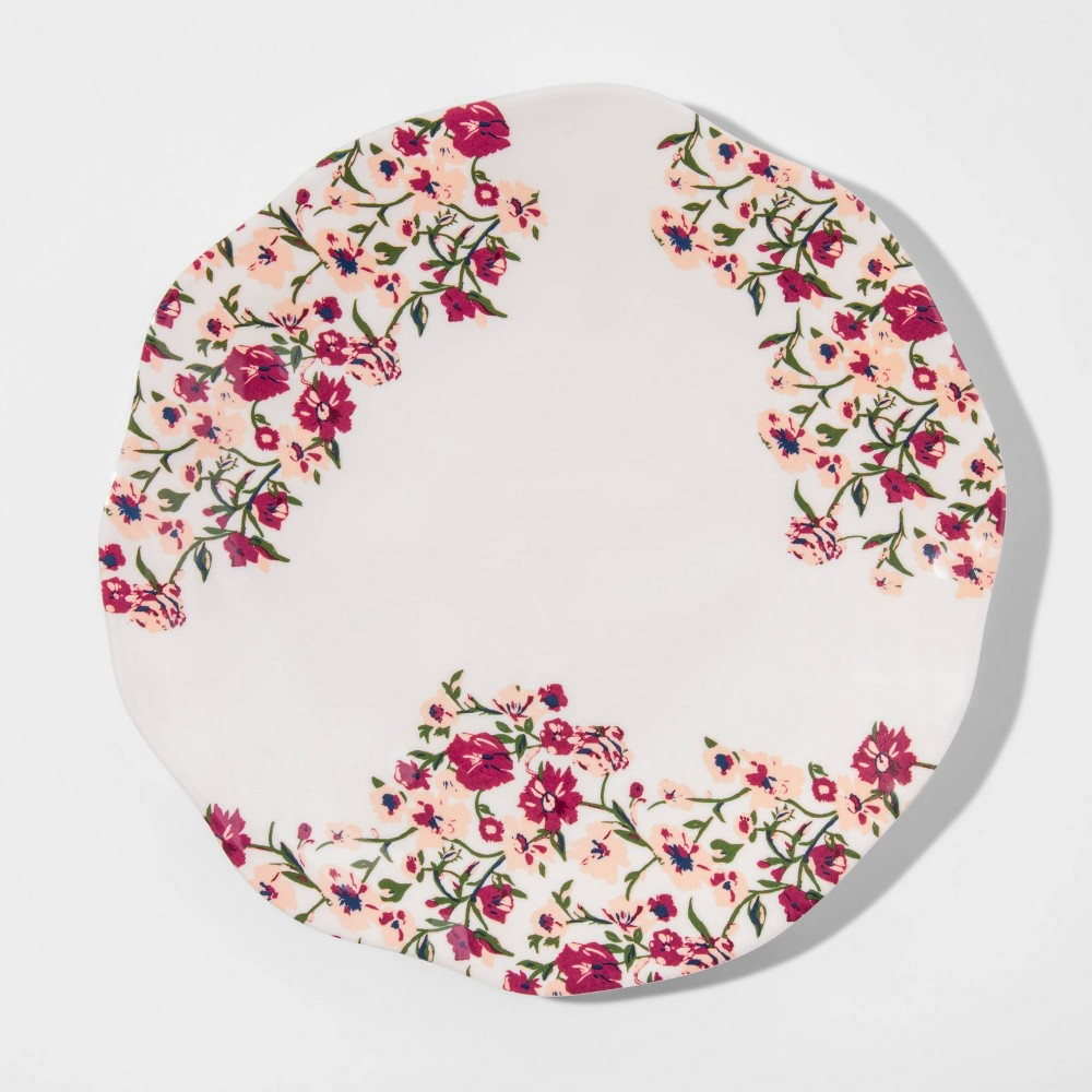 "Image of ""10.5"""" Melamine Ditsy Floral Dinner Plate - Opalhouse"""