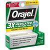 Orajel 3X Medicated For Denture Pain Gel - 0.25oz - image 2 of 3
