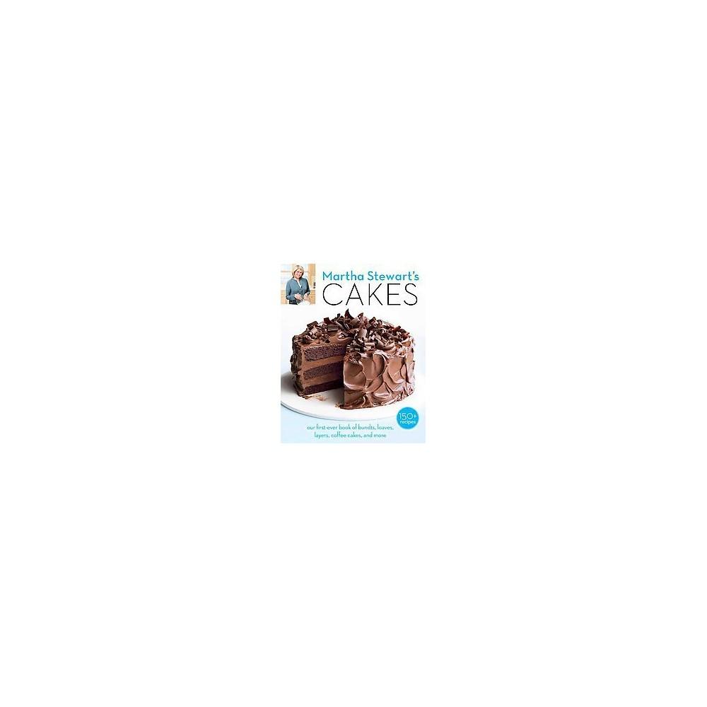 Martha Stewart's Cakes (Paperback) by Martha Stewart Living