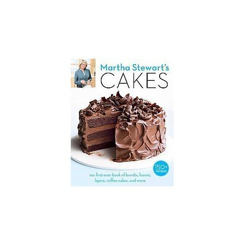 Martha Stewarts Cakes Paperback By Stewart Living Target