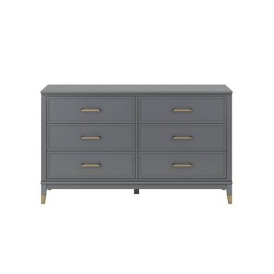 Westerleigh 6 Drawer Dresser - CosmoLiving by Cosmopolitan