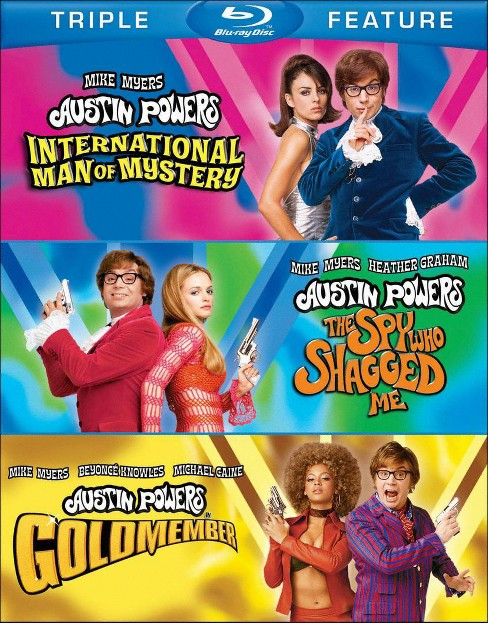 Austin Powers: International Man of Mystery/The Spy Who Shagged Me/Goldmember [3 Discs] - image 1 of 1