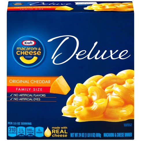 Kraft Family Size Deluxe Mac And Cheese 24 Oz Target