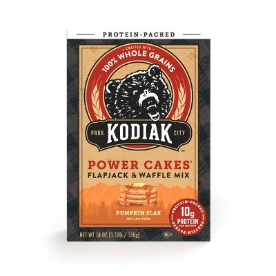 Kodiak Cakes Energy Cakes Pumpkin Flax - 18oz