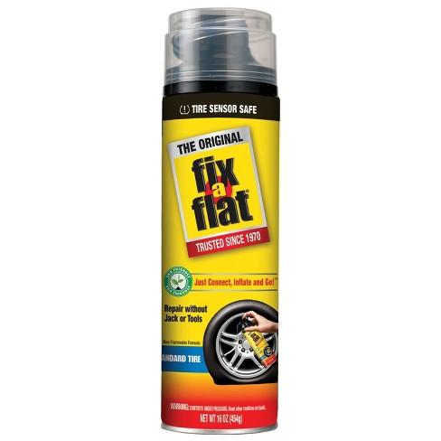 Flat Fix Near Me >> Fix A Flat Tire Inflator With Hose 16 Oz