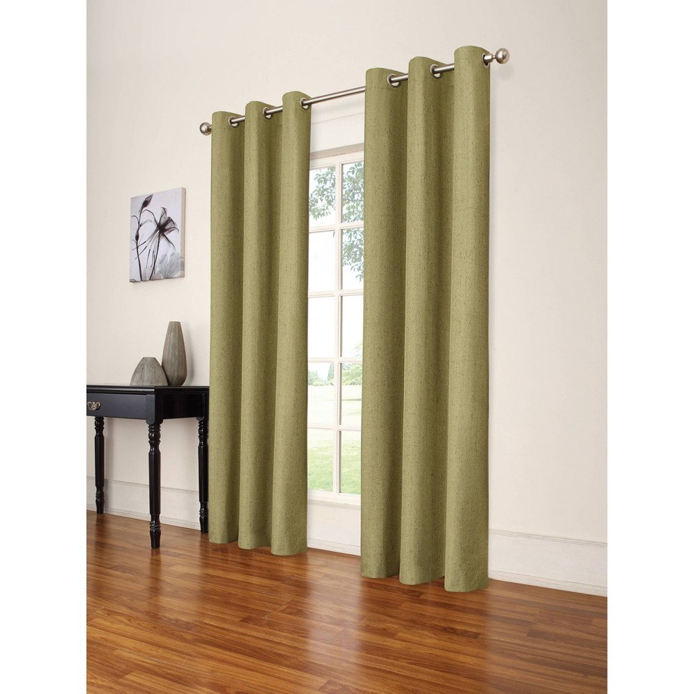 108 34 X42 34 Windsor Blackout Curtain Panel Green Eclipse