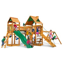 Gorilla Playsets Pioneer Peak Swing Set