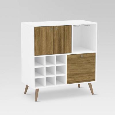 Alpine Bar Cabinet Walnut - Chique