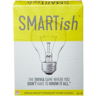 Smartish Trivia Strategy Board Game For 2-12 Players Ages 14Y+ : Target