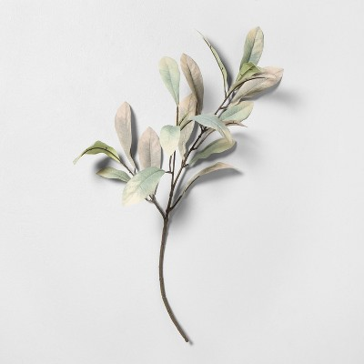 """25"""" Faux Dusty Leaves Stem - Hearth & Hand™ with Magnolia"""
