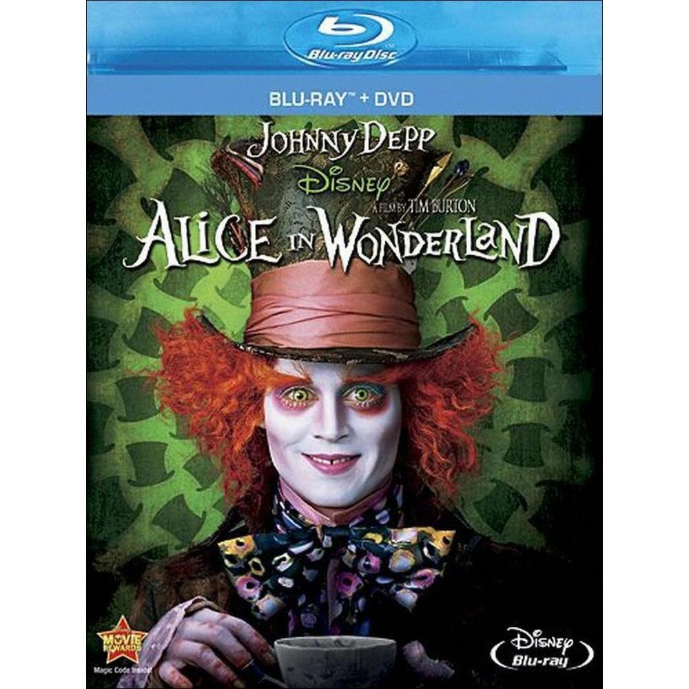 Alice in Wonderland (Blu-Ray/Dvd) (Blu-ray) Alice in Wonderland (Blu-Ray/Dvd) (Blu-ray)