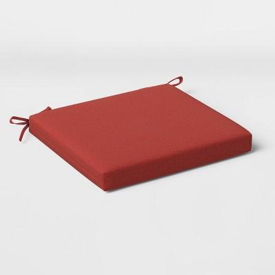 2pk Outdoor Seat Cushions DuraSeason Fabric™ - Threshold™