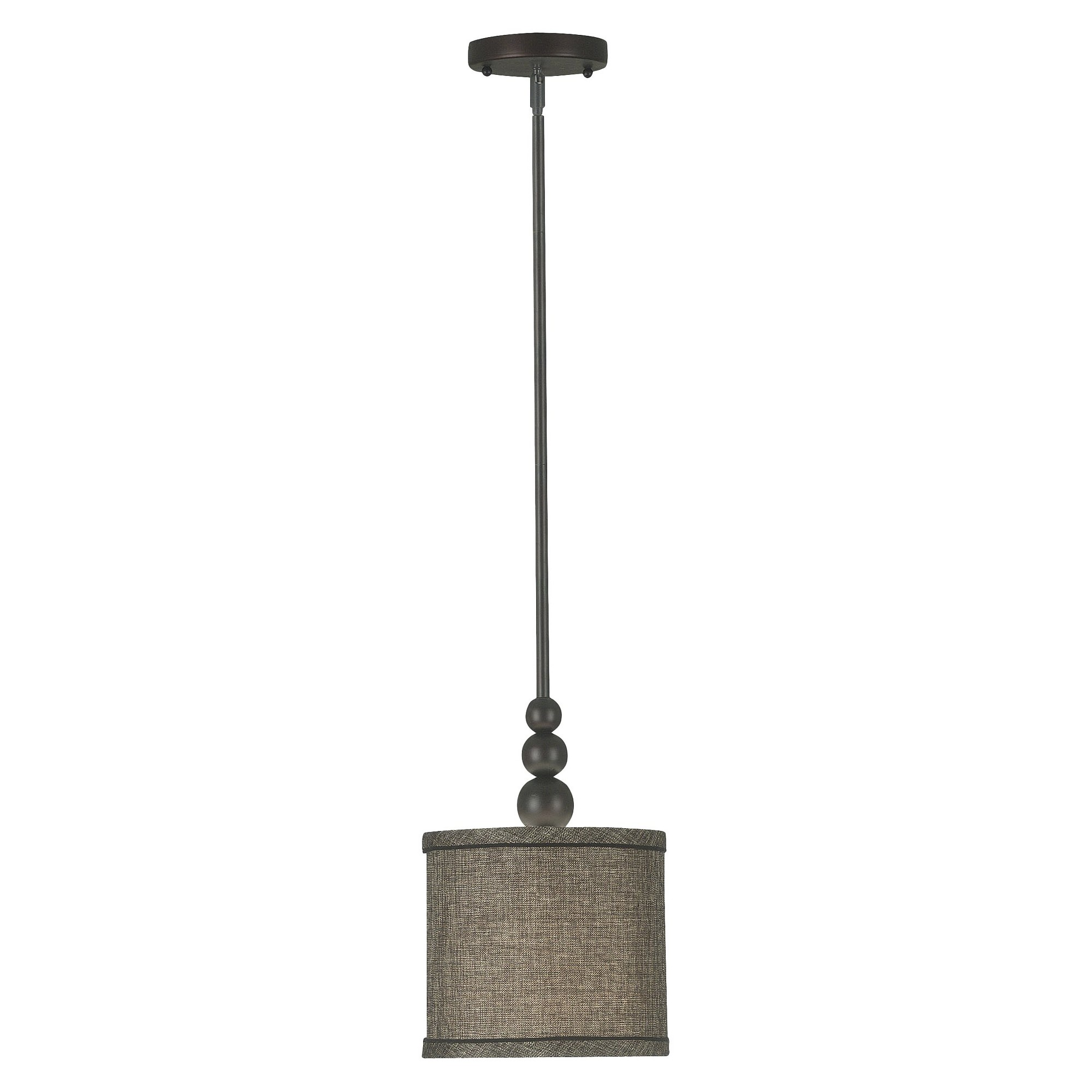 Kenroy Home Oil Rubbed Bronze Finish Margot 1 Light Mini Pendant