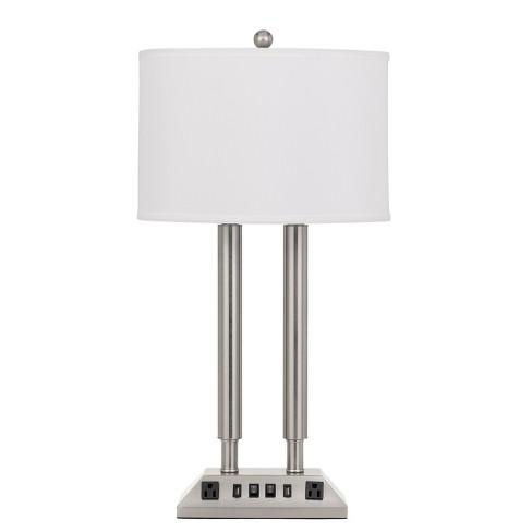 60W X 2 Metal Desk Lamp (Lamp Only) - Cal Lighting - image 1 of 1