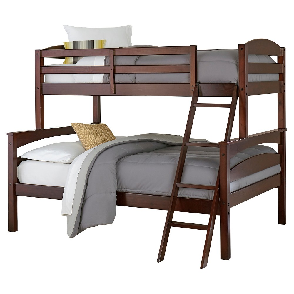 Maddox Bunk Bed (Twin Over Full) Brown - Dorel Living