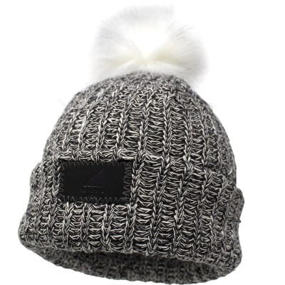 Arctic Gear Toddler Cotton Cuff Hat with Pom