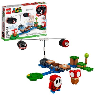 LEGO Super Mario Boomer Bill Barrage Expansion Set Collectible Toy for Creative Kids 71366