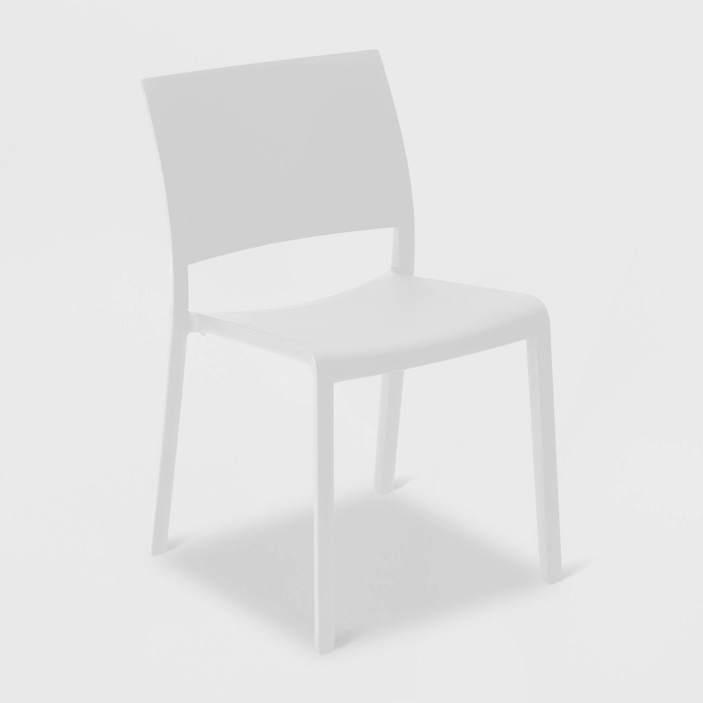 Image of Fiona 2pk Patio Chair - White - RESOL