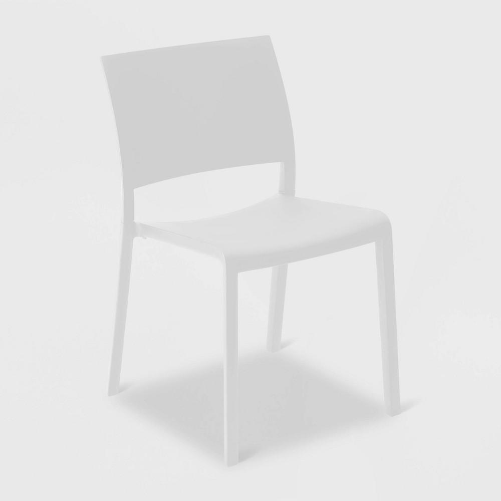 Fiona 2pk Patio Chair - White - Resol