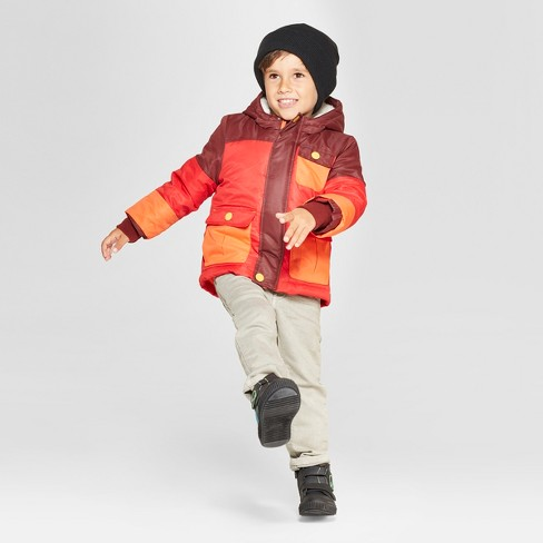 9aa949157ff1 Toddler Boys  Softshell Jacket - Cat   Jack™ Red   Target