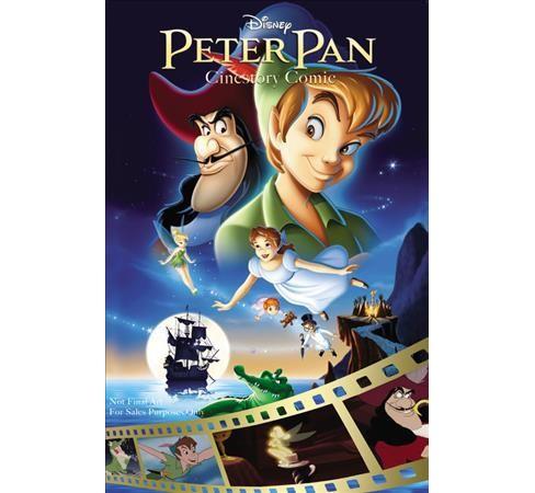 Disney Peter Pan Cinestory Comic Paperback Target