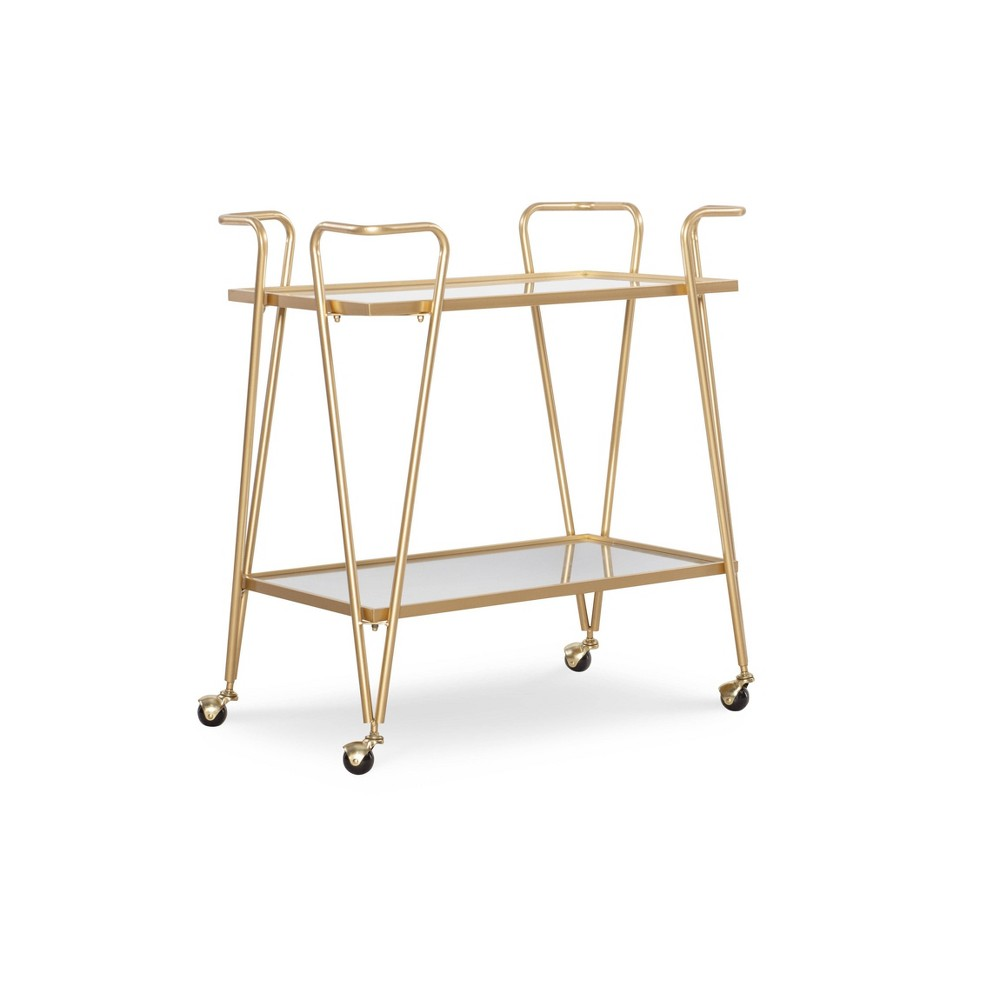 Mid Century Bar Cart Linon