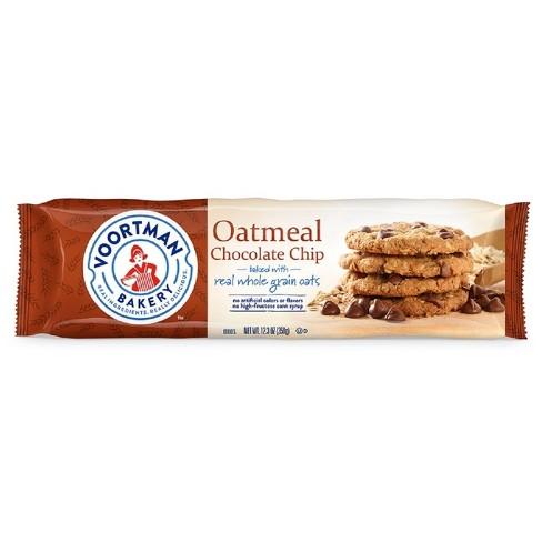 Voortman Oatmeal Chocolate Chip Cookies - 12.3oz - image 1 of 4