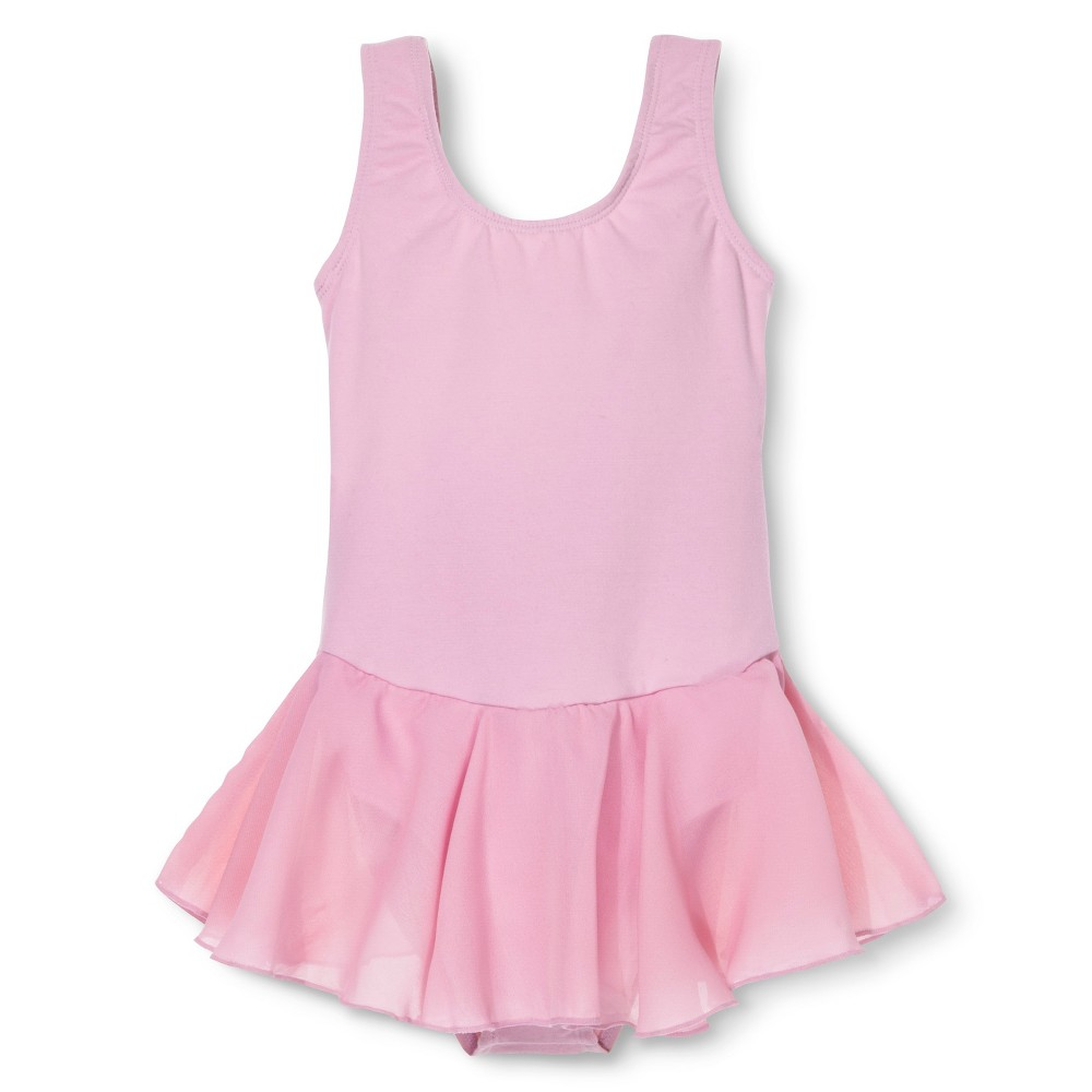 Danz N Motion by Danshuz Girls' Activewear Dress - Pink 4-6