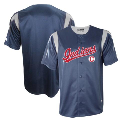 7c7574c7e Cleveland Indians Men s Button-Down Team Jersey - L   Target