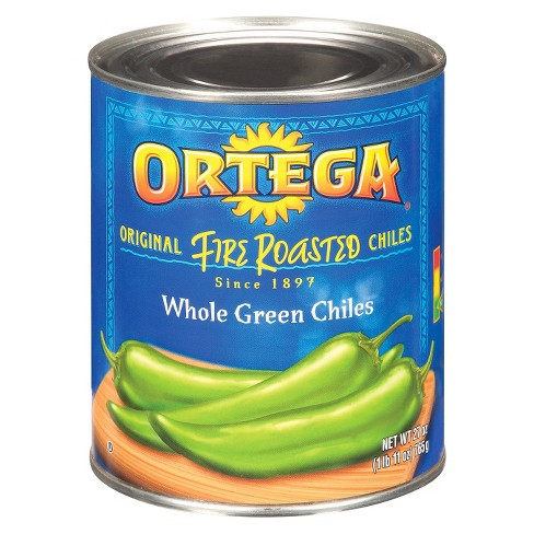 Ortega Whole Green Fire Roasted Chiles 27 oz - image 1 of 1