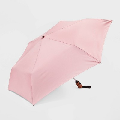 Women's Cirra By ShedRain Auto Open Auto Close Compact Umbrella - Blush Pink