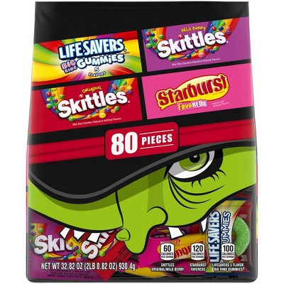 Skittles & Starburst Halloween Variety Pack - 32.82oz/80ct
