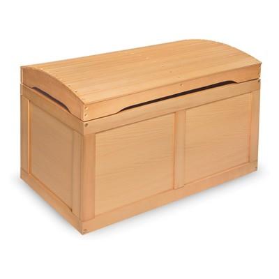 Badger Basket Hardwood Barrel Top Toy Chest Natural