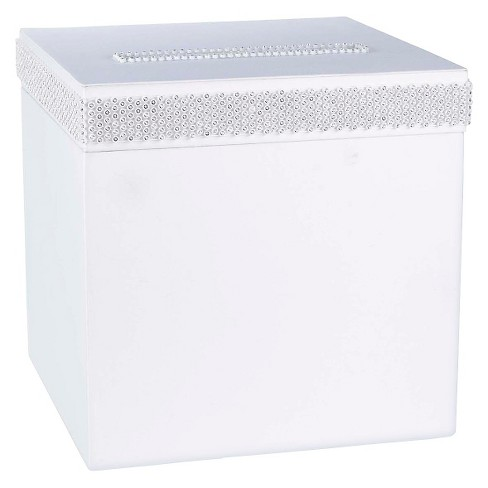Bling Wedding Collection Wedding Card Box - image 1 of 1