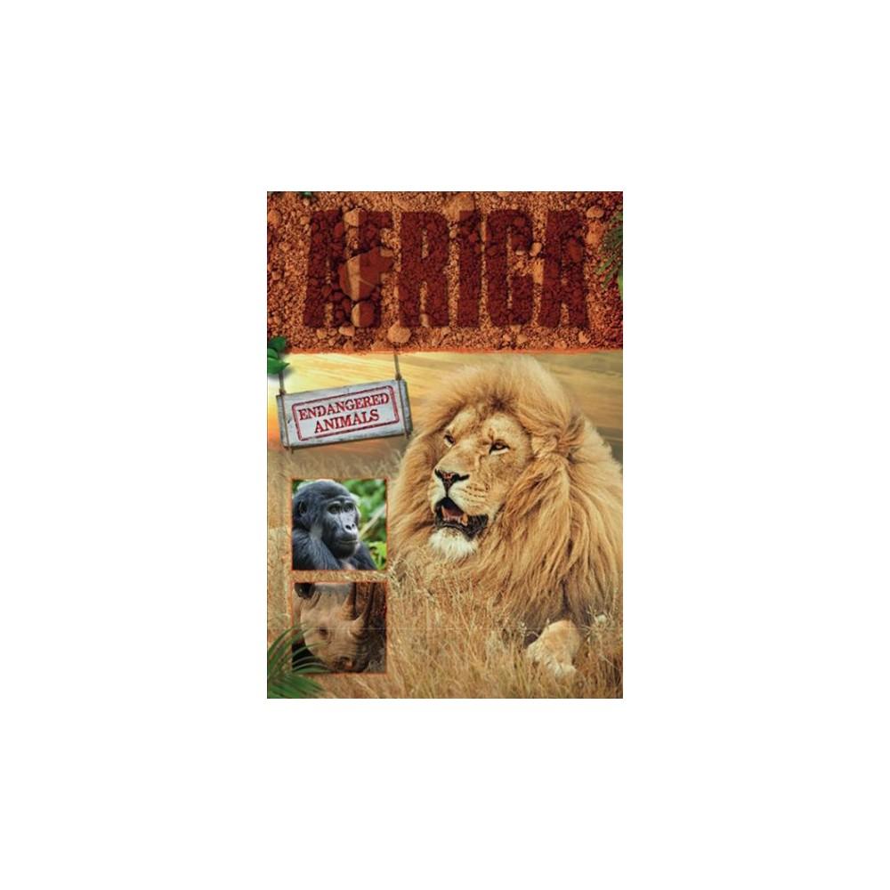 Africa - (Endangered Animals) by Grace Jones (Hardcover)