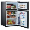 Whirlpool 3.1 Cu. Ft. Black Stainless Mini Refrigerator – BCD-88V - image 3 of 4