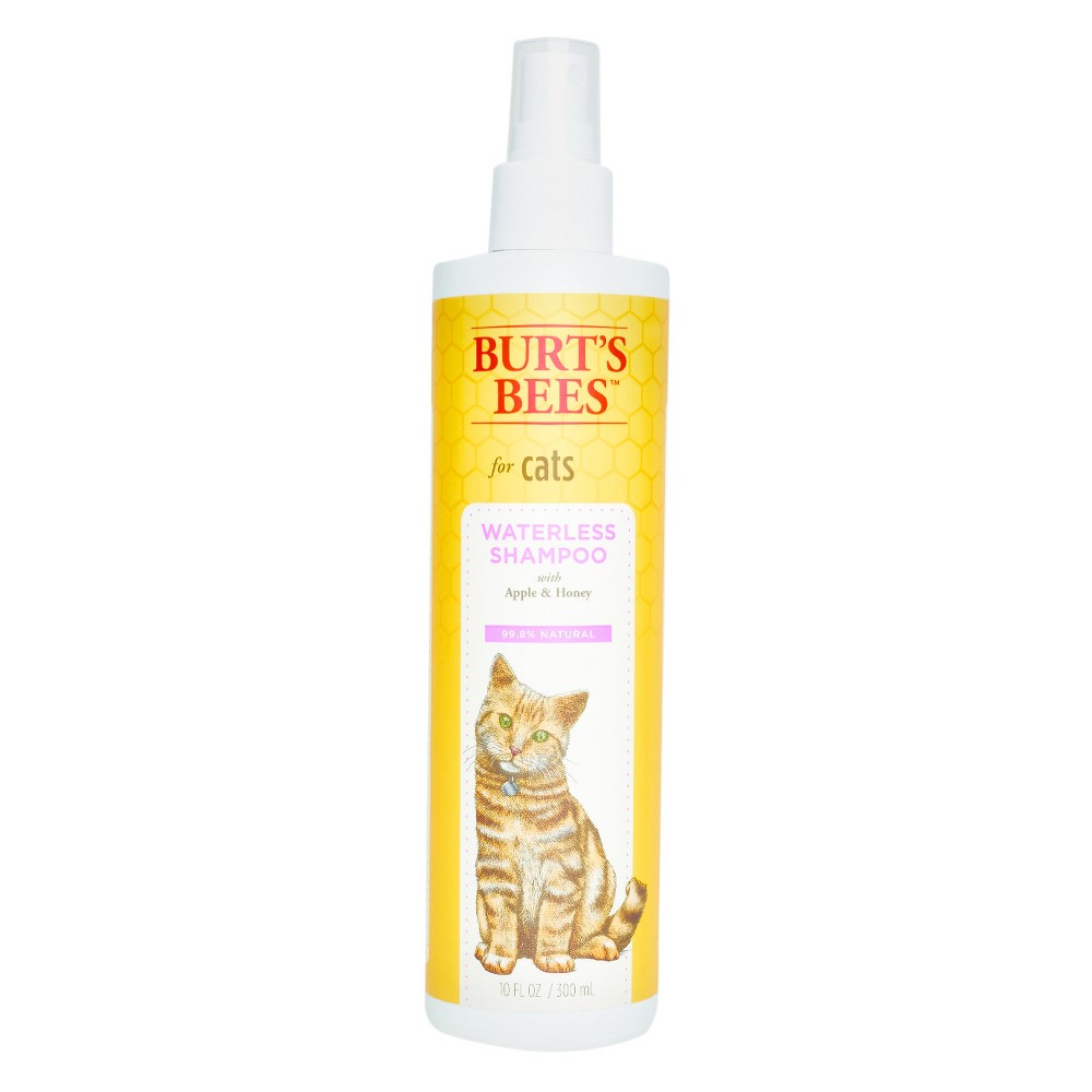 Burt's Bees Water-less Cat Shampoo - 10oz, Clear