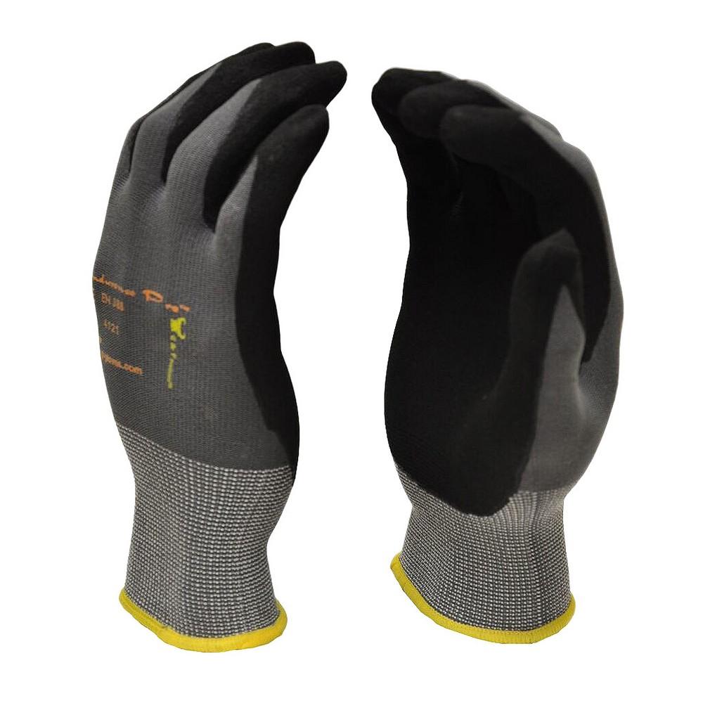 Endurancepro Microfoam Nitrile Coated Work Gloves For General Purposes - Medium - Black - G & F