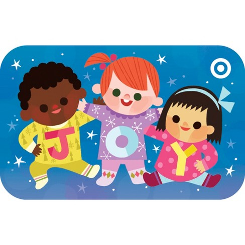Joy Kids Gift Card Target