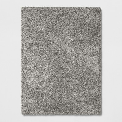 Gray Solid Woven Area Rug 9'X12' - Threshold™