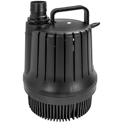 Pondmaster Magnetic Drive 3000 GPH Garden Pond Waterfall Pump w/ Filter - 02660