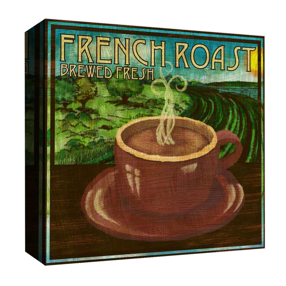 16 34 X 16 34 French Roast Decorative Wall Art Ptm Images