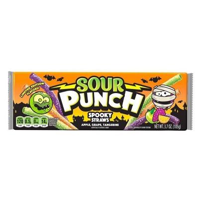 Sour Punch Halloween Spooky Straws - 3.7oz