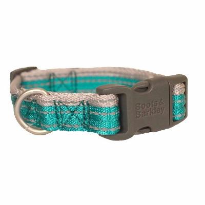 Reflective Two-Tone Dog Collar - Boots & Barkley™