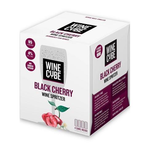 Black Cherry Wine Spritzer - 4pk/250ml Cans - Wine Cube™ - image 1 of 2