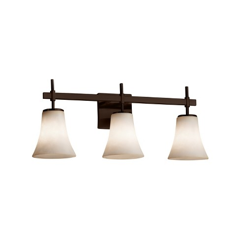 """Justice Design Group CLD-8413-20 Clouds 23.5"""" Union 3 Light Vanity Light - image 1 of 2"""