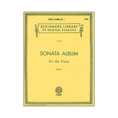 G. Schirmer Sonata Album Book 1 for Piano - 15 Sonatas By Haydn, Mozart And Beethoven