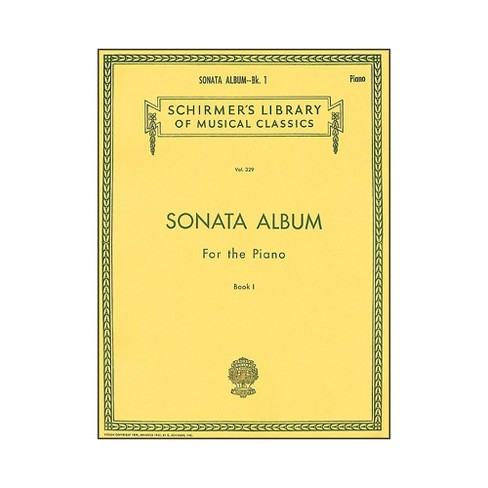 G. Schirmer Sonata Album Book 1 for Piano - 15 Sonatas By Haydn, Mozart And Beethoven - image 1 of 1